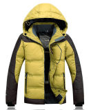2016 Men Latest Windproof Warm Winter Ski Down Jacket