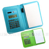 Multi-Function Dual Power Notebook Calculator with Ballpen (LC805)