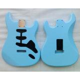 Nitro Satin Finished Sonic Blue SSS Alder Strat Guitar Body