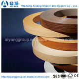Pre-Glued Solid Color/Wood Grain PVC Edge Banding