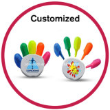 Custom Logo 5 in 1 Multi Colored Highlighter Pen