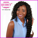 Quercy Hair Unprocessed Human Hair Wholesale Top Grade Peruvian/Indian/Brazilian Deep Wave Hair Extension