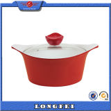 China Supplier Glass or Aluminum Lid Mini Cooking Pot