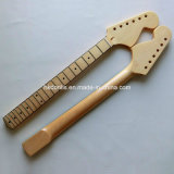Large Headstock with Binding Canadian Maple St Neck Guitar
