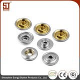 Walkingzone Monocolor Round Individual Metal Snap Button for Bags