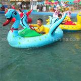Most Popular Animal Design Tire Aqua Kids Electric Bumper Boats