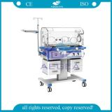 AG-Iir003 with Four Wheels Medical Movable Hospital Baby Warmer