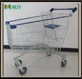 Cadde Supermarket Shopping Trolley Zinc Plated with Clear Epoxy Coating Mjy-Sec160