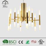 Modern Simple Personality Tube Lamp Chandelier for Restaurant Pendant Lighting