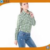 2017 New Fashion Women Shirts Cotton Top Blouse