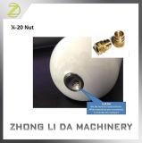 RoHS Compliant Brass Machining M4 Knurling Thread Insert