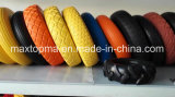 Maxtop Solid Rubber Flat Free PU Foam Wheel