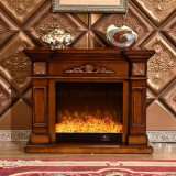 European LED Lights Heater Bedroom Furniture Electric Fireplace (334SS)
