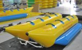 2-8 Persons Ocean Inflatable Float Water Banana Boat with 2 Tubes