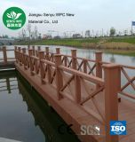 Outdoor Plastic Wood WPC Fence