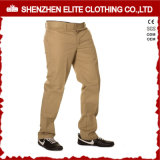China Wholesale Hot Sale Brown Custom Made Men Work Trousers