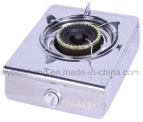 Single Burner Gas Cooker, Stainless Steel,