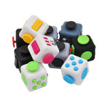 Free Sample Mini Fidget Cube Creative Toy Vinyl Desk Kids Children Adults Finger Toys Squeeze Fun Stress Reliever Antistress Cubo
