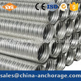 Metal Material Galvanized Sheet Metal Corrugated Duct