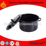 Sunboat Enamel Stock Pot Enamel Steamer