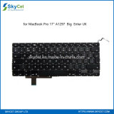 "Original Keyboard Replacement for MacBook PRO 17"" A1297 Big Enter UK"
