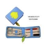 5PCS Beauty Appliance Nail Drill Leather Zipper Pedicure Manicure Set