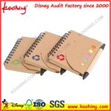 A4 / A5 Wholesale Customized Logo Colored PP Hard Plastic Cover Double Ring Spiral Notebooks / Bound Journals for School