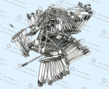 Top Selling Safety Pins, Nickel Safety Pins Alloy Safety Pins