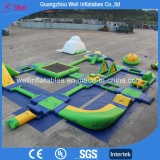 Hot Sell Aqua Equipment Inflatable Floating Island Inflatable Water Park