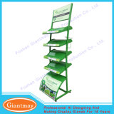 Customized Metal Floor Stands Wrought Iron Grass Display Rack for Exhibitions