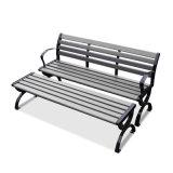 Patio Garden Outdoor Morden Furniture Metal Plastic Wood Table Leisure Chair (J822)
