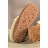 Double Face Australia Merino Sheepskin Ladies House Slipper Shoes