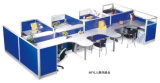 Classic Design Combined Office Workstation with High Partition