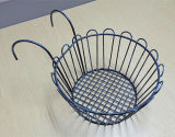 Over Door Metal Handing Storage Basket