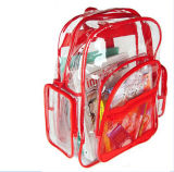 Clear Transparent PVC School Bag, Kids Bag, Backpack Bag for Children