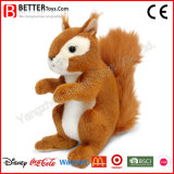 Realistic Stuffed Animal Toy Squirrel for Child