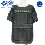 Newstyle Black Perspective Sexy Ladies Fashion Tops