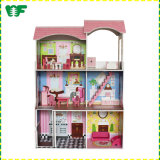Hot Sale Funny Baby Wooden Doll House for Toddlers