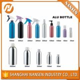 150ml Hot Sale Empty Aluminum Cosmetic Bottle with Pump or Cap or Sprayer with Tamper Ring Essential Oil