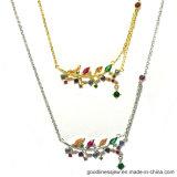Wholesale Price Jewelry Woman's Fashion Flower Silver Set (S3381)