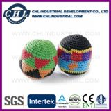 Custom En71 Certified Crochet Kick Ball with Blister Card