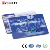 0.5mm MIFARE Ultralight C RFID Paper Ticket with UV Coating