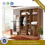 New Design Wooden Storage Wardrobe Closet (HX-LC2084)