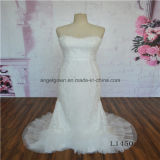 Strapless New Collection Fashion Ladies Wedding Dress