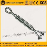 Us Type Drop Forged DIN1480 Turnbuckle with Jaw & Jaw