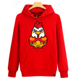 Good Quality Women Printing Pullover Hoodie with Rooster
