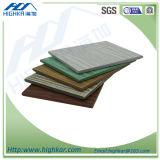 Inorganic Exterior Wall Siding Panels Wood Grain Fibre Cement Board