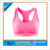 Wholesale Racerback Yoga Sports Bra for Women with Reflective Printing