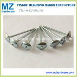 """Bwg9*2"""" Umbrella Head Smooth Shank Roofing Nail in Construction"""