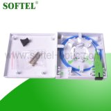 2 Ports Home Use Fiber Optical Faceplate